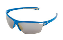 Cebe Cinetik Sportbrille electric Blue / 1500 grey flash silver